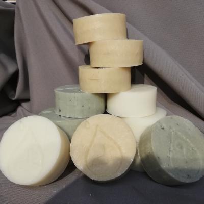 Shampoings solides au lait d'anesse (3 sortes différentes)